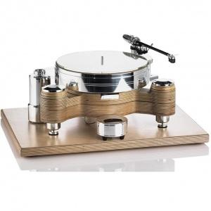 פטיפון Acoustic Solid - Wood Round