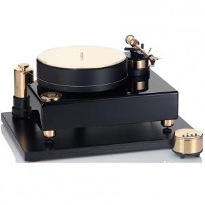 פטיפון, דגם הנעת רצועה ,Referenz Black Gold של Acoustic Solid