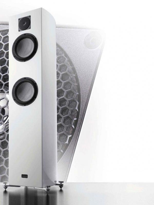 רמקולים רצפתיים קרמיים Gauder Akustik – Vescova MK II