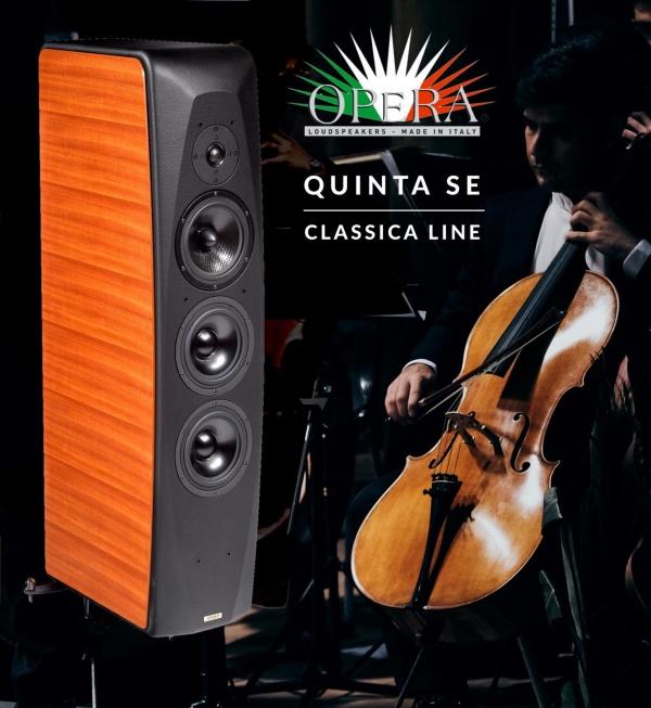 רמקולים OPERA - QUINTA SE