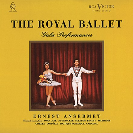 תקליט איכותי, Ansermet - The Royal Ballet Gala Performances