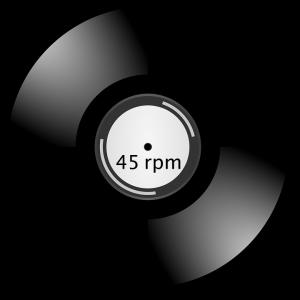 תקליטים מהירות 45