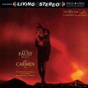 תקליט איכותי,Alexander Gibson - Gounod - Faust - Ballet Music - Bizet: Carmen - Suite