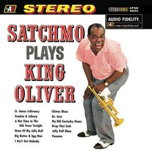 תקליט איכות,Louis Armstrong- Satchmo Plays King Oliver , בהוצאת הלייבל Analogue Production