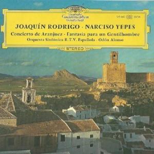 תקליט מוסיקה קלאסית - Alonso - Rodrigo- Concierto De Aranjuez