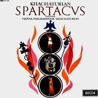 תקליט מוסיקה קלאסית, Aram Khachaturian - Spartacus & Gayaneh