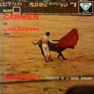 תקליט מוסיקה קלאסית Ernest Ansermet - Bizet- Carmen Suite, L'Arlesienne Suite