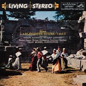 תקליט מוסיקה קלאסית-Jean Morel - Bizet- L'Arlesienne Suites 1 And 2