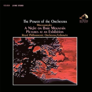 תקליט מוסיקה קלאסית ,Leibowitz, Royal Philharmonic Orchestra - Moussorgsky- The Power Of The Orchestra, כ 200 גרם.