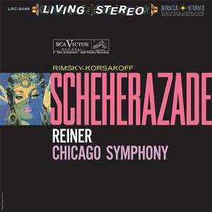 תקליט מוסיקת קלאסית Fritz Reiner - Rimsky-Korsakoff- Scheherazade