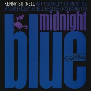תקליט גאז,Kenny Burrell - Midnight Blue , כ 2 תקליטים , 200 גרם, מהירות 45.
