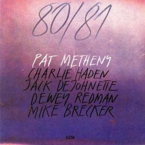 תקליט גאז כפול ,Pat Metheny - 80/81 ,כ 2 תקליטי 180 גרם, ECM.