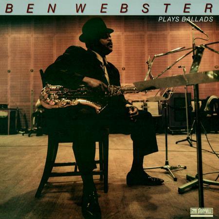 תקליט ג'אז קלאסי ,Ben Webster - Plays Ballads , הקלטת מאסטר תוצרת חוץ.