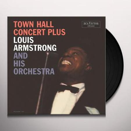 תקליט בלוז קלאסי Louis Armstrong - Town Hall Concert Plus (Mono Version)
