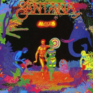 תקליט ג'אז קלאסי Santana - Amigos
