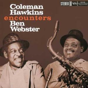 תקליט גאז Coleman Hawkins - Encounters Ben Webster
