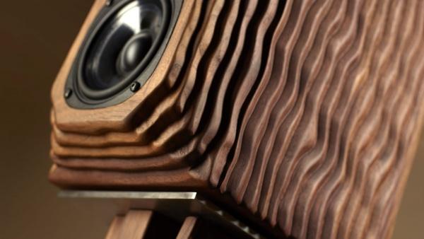 רמקולים מדפיים מעוצבים Diapason Karis Wave