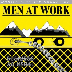תקליט פופ 180 גרם Men At Work - Business As Usual