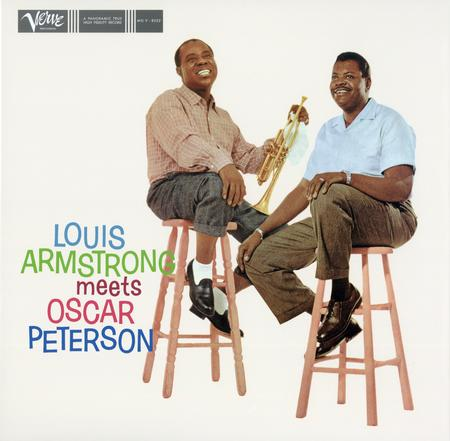 תקליט גאז  Louis Armstrong and Oscar Peterson - Louis Armstrong Meets Oscar Peterson תקליט 180 גרם