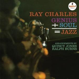 תקליטי גאז ובלוז , Ray Charles - Genius + Soul = Jazz